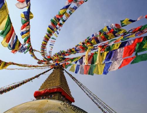Nepal – Katmandu Buddyjska Stupa Bodnath