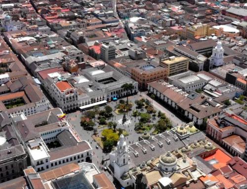 Stare Miasto w Quito….